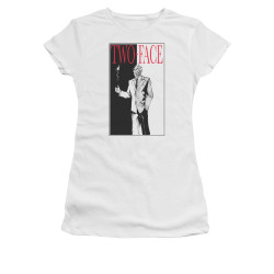 Image for Batman Girls T-Shirt - Two Face