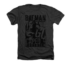 Batman Heather T-Shirt - Caped Crusader