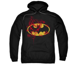 Image for Batman Hoodie - Joker Graffiti