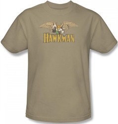 Image Closeup for Hawkman in Flight T-Shirt