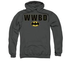 Image for Batman Hoodie - WWBD Logo