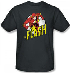 Image Closeup for Flash Run T-Shirt