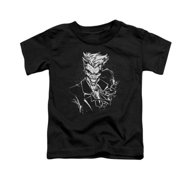 Image for Batman Toddler T-Shirt - Joker's Splatter Smile