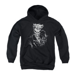Image for Batman Youth Hoodie - Joker's Splatter Smile