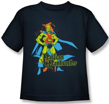 Image for Martian Manhunter Kid's T-Shirt