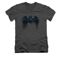 Batman V Neck T-Shirt - Run Away