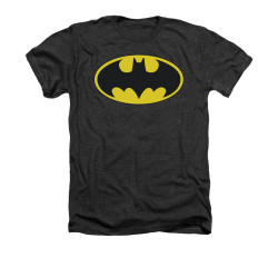 Image for Batman Heather T-Shirt - Classic Bat Logo