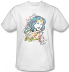 Image for Wonder Woman Wonder Scroll T-Shirt