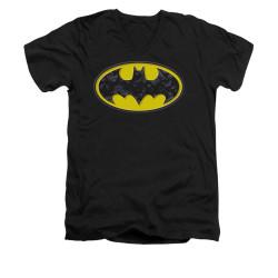 Image for Batman V Neck T-Shirt - Bats In Logo