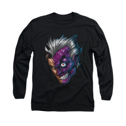 Image for Batman Long Sleeve Shirt - Just Face