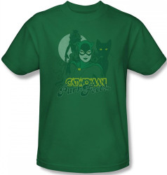 Image Closeup for Catwoman T-Shirt - PurrFect