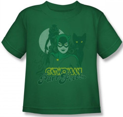 Image for Catwoman PurrFect Kid's T-Shirt