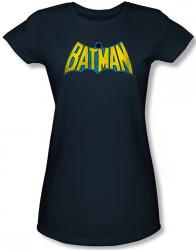 Image for Batman Girls T-Shirt - Retro Logo