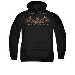 Image for Batman Arkham Asylum Hoodie - Arkham Asylum Logo