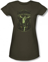 Image for Green Lantern Fearless Girls Shirt
