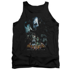 Image for Batman Arkham Asylum Tank Top - Five Against One