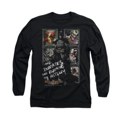 Image for Batman Arkham Asylum Long Sleeve Shirt - Running The Asylum