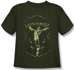 Image for Green Lantern Fearless Kid's T-Shirt