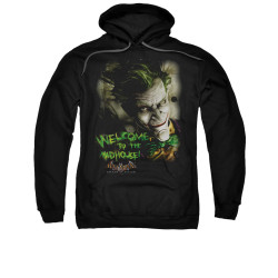 Image for Batman Arkham Asylum Hoodie - Welcome To The Madhouse