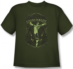 Image for Green Lantern Fearless Youth T-Shirt