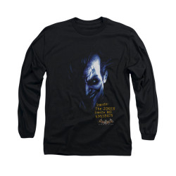 Image for Batman Arkham Asylum Long Sleeve Shirt - Arkham Joker