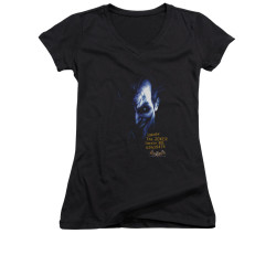 Image for Batman Arkham Asylum Girls V Neck - Arkham Joker