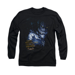 Image for Batman Arkham Asylum Long Sleeve Shirt - Arkham Killer Croc