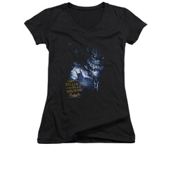 Image for Batman Arkham Asylum Girls V Neck - Arkham Killer Croc