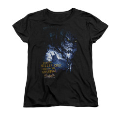 Image for Batman Arkham Asylum Womans T-Shirt - Arkham Killer Croc