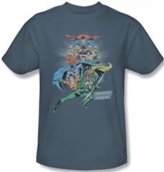 Image Closeup for JLA In League T-Shirt