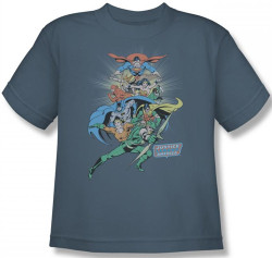 Image for JLA In League Youth T-Shirt