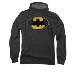 Image for Batman Hoodie - Destroyed Logo