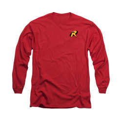 Image for Batman Long Sleeve Shirt - Robin Logo