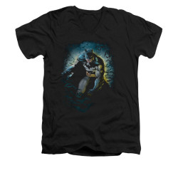 Image for Batman V Neck T-Shirt - Bat Cave