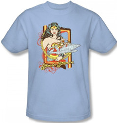 Image for Wonder Woman Invisible Jet T-Shirt