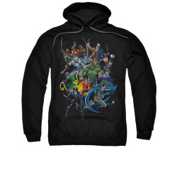 Image for Batman Hoodie - Saints And Psychos