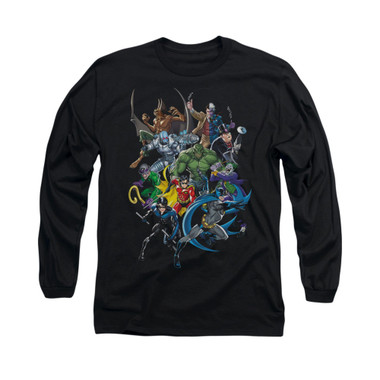 Image for Batman Long Sleeve Shirt - Saints And Psychos