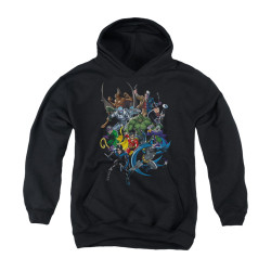 Image for Batman Youth Hoodie - Saints And Psychos