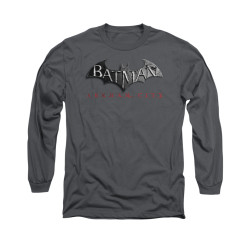 Image for Arkham City Long Sleeve Shirt - Logo