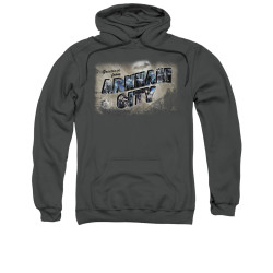 Image for Arkham City Hoodie - Greetings From Arkham