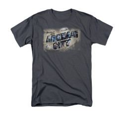 Image for Arkham City T-Shirt - Greetings From Arkham