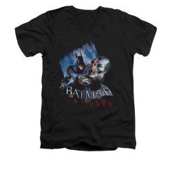 Image for Arkham City V Neck T-Shirt - Joke's On You!