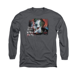 Image for Arkham City Long Sleeve Shirt - Plenty Wrong