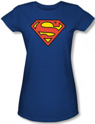 Image for Superman Girls T-Shirt - Classic Logo