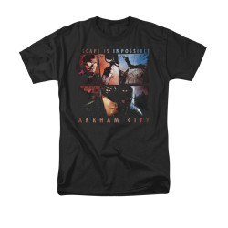 Image for Arkham City T-Shirt - Escape Is Impossible