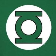 2e5a02606 Green Lantern Logo T-Shirt - NerdKungFu