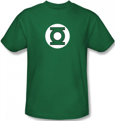 Image Closeup for Green Lantern Logo T-Shirt