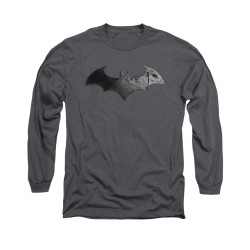 Image for Arkham City Long Sleeve Shirt - Bat Logo