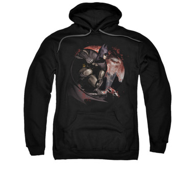 Image for Arkham City Hoodie - Blood Moon