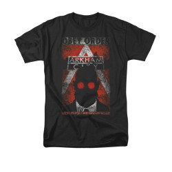 Image for Arkham City T-Shirt - Obey Order Poster